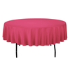 90 In. Round Spun Polyester Tablecloth Factory