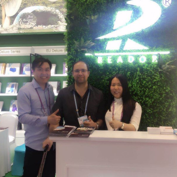 Nantong reador textile Co.,Ltd participates in Canton Fair
