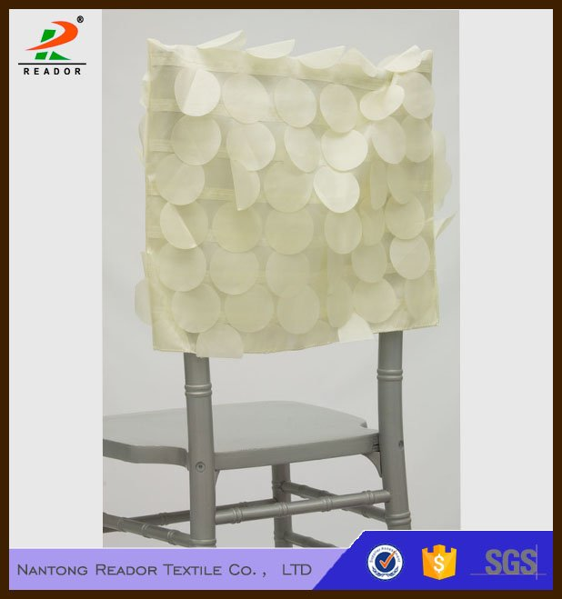 Petal Taffeta Chair Caps