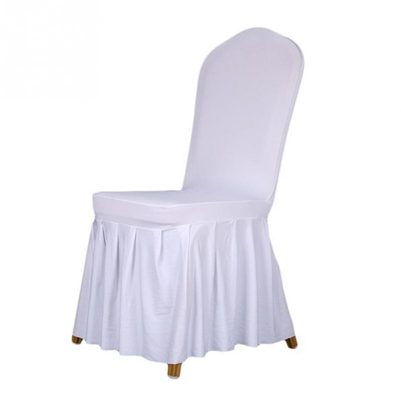 Pleated chair cover