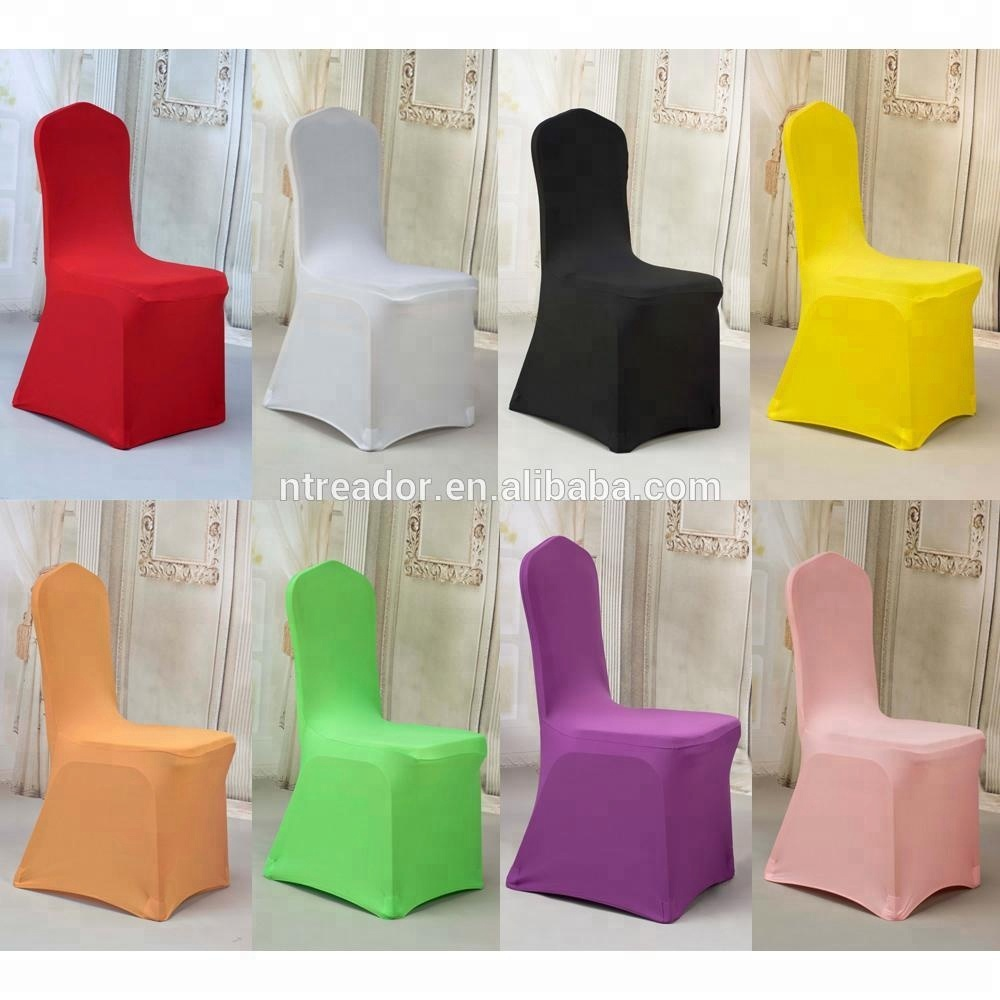 wholesale cheap white chair covers spandex