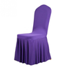 Red Pleated skirt patterns Elastic Chair covers Factory