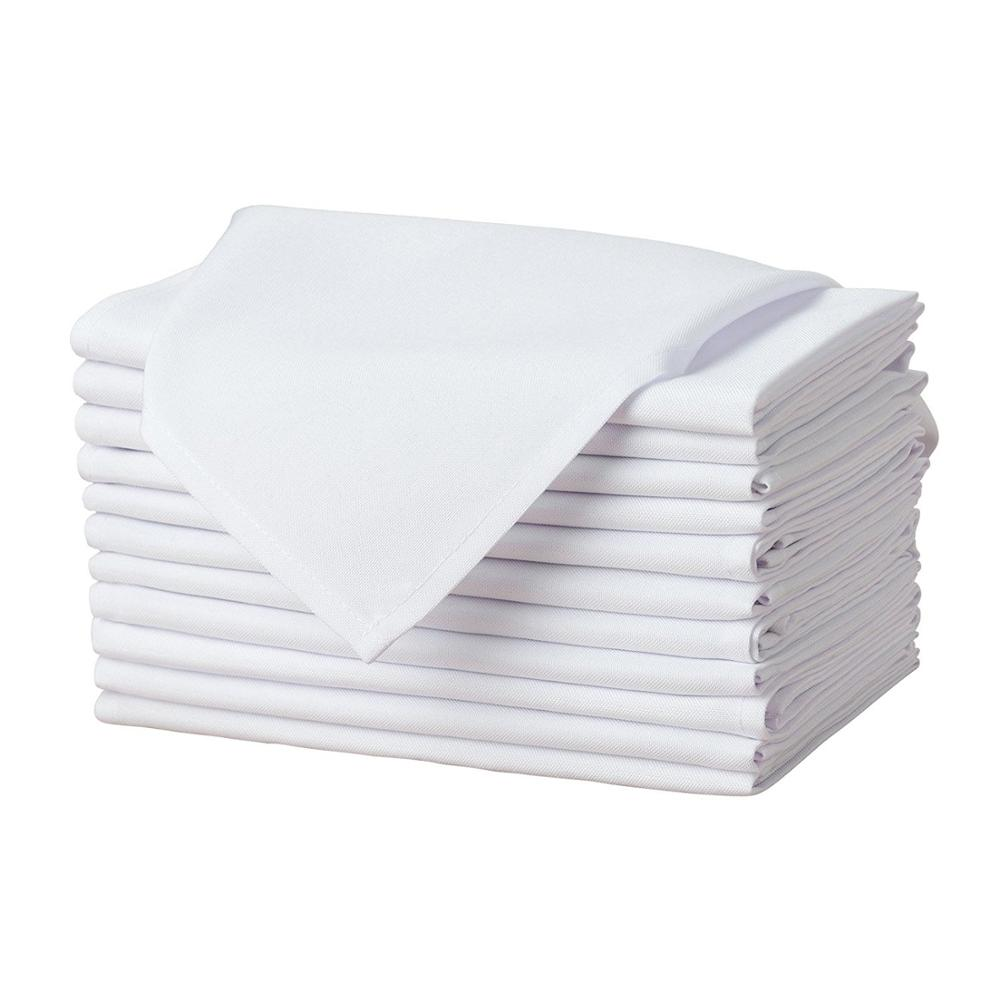 Wholesale colorful polyester table napkin for hotel and restaurant