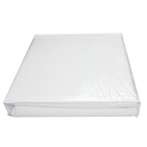 wholesale White Color Hypoallergenic and Waterproof Mattress Protector