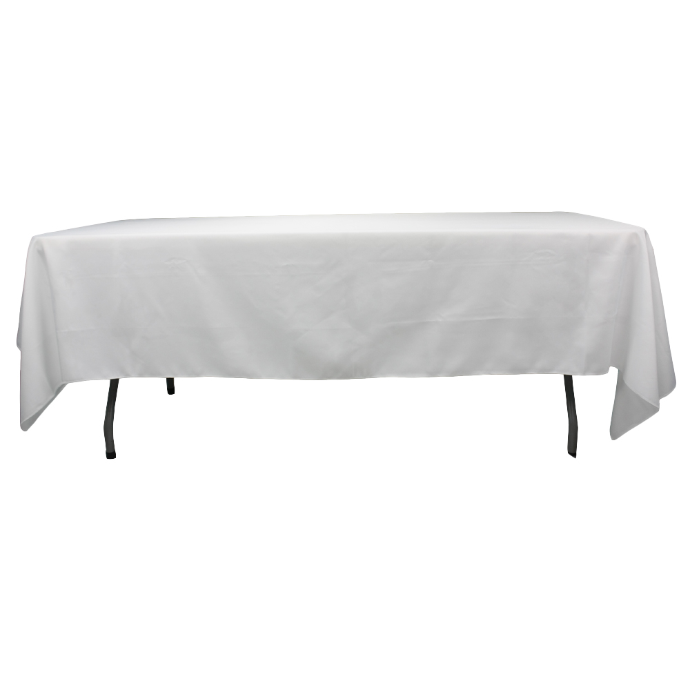 60*126 inch high quality banquet rectangle polyester table cloth tablecloth