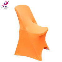 Wholesale polyester spandex chair cover for wedding banquet